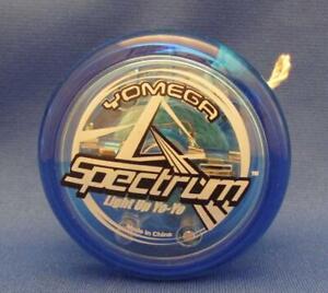 Yomega Spectrum Blue Light Up Yo-Yo With Transaxle & Color Changing LED Lights