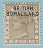 "BRITISH SOMALILAND SG 7a - ""1"" INSTEAD OF ""I"" MINT OG * RARE VARIETY NO FAULTS !"