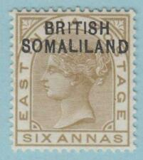 "BRITISH SOMALILAND SG 7a - ""1"" INSTEAD OF ""I"" MINT OG * RARE VARIETY NO FAULTS !"