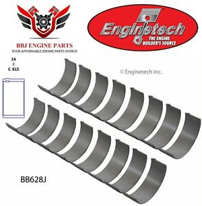 Pontiac V8 326 350 389 400 421 428 455 Enginetech Rod Bearings 1963 - 1979