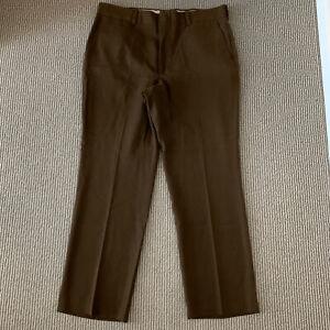 Vintage 80s Mr. Levis Sta Prest Slacks Pants Jeans 38x30.5 Scovill Zipper Brown
