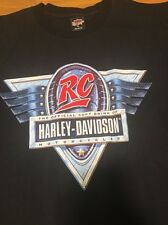 Vintage Harley Davidson RC Official Soft Drink T Tee Shirt XL Shake Things Up