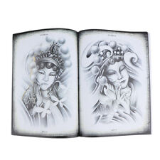 Chinese Style Tattoos Reference Book Body Art Traditional Design 70 Pages A4