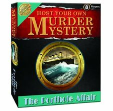 Host Your Own Murder Mystery - The Porthole Affair - Cheatwell Games