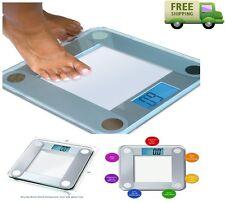 Eatsmart Precision Weight Glass Body Digital Electronic Bathroom Scale 400 lbs