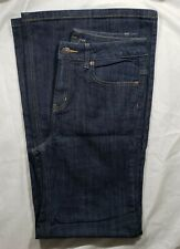 Victoria's Secret VS London Jeans Women's Dark Wash Flare, Mid Rise Size 10