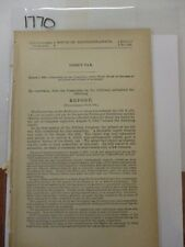 Government Report 1861  Direct Tax - Several States and Territories #1770