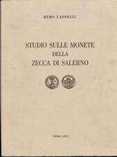 HN Cappelli Remo STUDIO SULLE MONETE DELLA ZECCA DI SALERNO