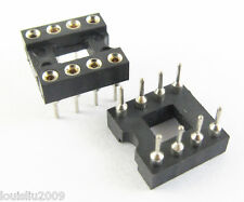 60pcs High Quality 8 Pin Round DIP IC Socket Adapter