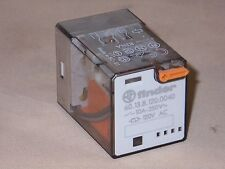 Finder Relay 60.13.8.120.0040 3PDT relay, 120VAC coil (NIB)