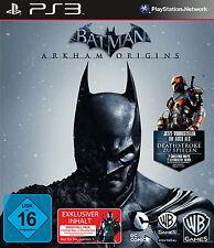 Batman: Arkham Origins -- Day One Edition (Sony PlayStation 3, 2013, DVD-Box)