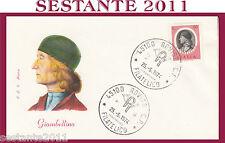 ITALIA FDC ROMA GIAMBELLINO 1974 ANNULLO ROVIGO H188