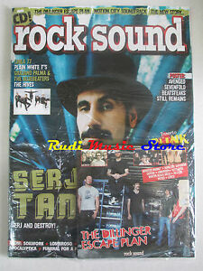rivista ROCK SOUND 115/2007 Dillinger Escape Plan +POSTER Avenged Sevenfold nocd