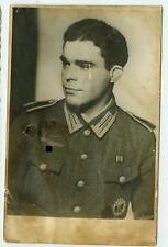 Deutsches Reich 2. Weltkrieg Foto Portrait Soldat Unteroffizier Heer