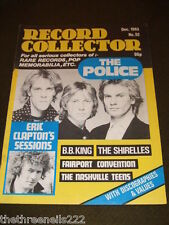 RECORD COLLECTOR #52 - THE POLICE - B.B. KING - DEC 1983