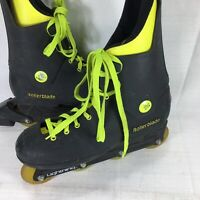 Vintage Rollerblade Lightning Inline Skates 1988 Black Yellow Men's Size 9