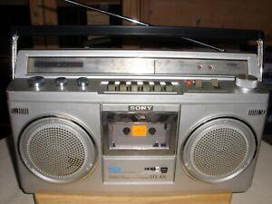 """Radiorecorder/Ghettoblaster Sony CFS-47L - made in Japan -""""sehr gut erhalten""""-"""