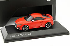 Audi tt rs Coupe Catalunya rojo 1:43 iscale