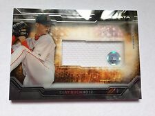 Clay Bucholz 2015 Topps Strata Authentic Memorabilia GU Jersey Patch Red Sox