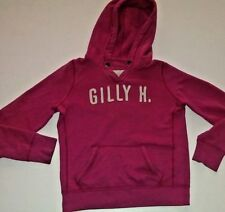 Women's Gilly Hicks Hoodie Size Medium PINK shirt top sweatshirt fitted