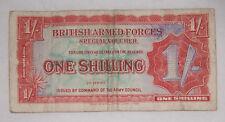 British Armed Forces Vouchers set of 3 UNC Scarce De La Rue print p-M22,45,46