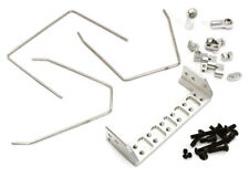 C28411SILVER Anti Roll Stabilizer Sway Bar Kit for Traxxas TRX-4 Off-Road Truck