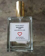 Crystal Beauty ROSE QUARTZ LOVE eau de parfum | Rose Water/ Lily / Musk Perfume