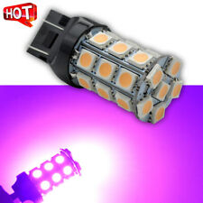 2X 12V PINK 5050 27SMD 7443 LED Bulbs for Backup Reverse Lights Bright Lamps