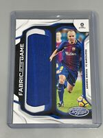 Andres Iniesta 2019-20 Panini Chronicles ⚽️ Relic Fabric Of The Game Barcelona