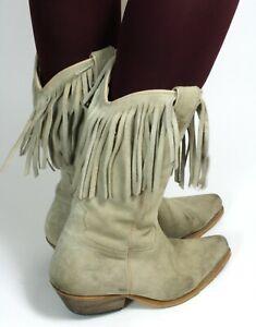 Cowboystiefel Line Dance Catalan Style Westernstiefel Leder Texas Joe Sanchez 40