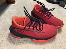 Stephen Curry Boys Shoes Size 3Y