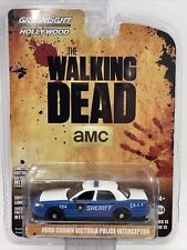 Greenlight Hollywood 1/64 AMC WALKING DEAD FORD CROWN VIC POLICE INTERCEPTOR