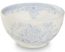 Burleigh ware Asiatic Pheasants blue & white china sugar bowl small