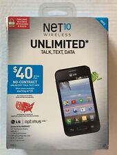 Android LG Optimus Fuel Phone Net10 Wireless New Sealed FREE Fast Priority Ship