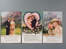 R&L Postcard: Bamforth Song Card Set 3 4995 Apple Blossom Time with You