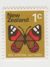(NZK934) 1970 NZ 1c red Admiral butterfly (B)
