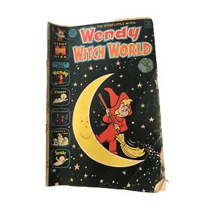 Wendy Witch World Comic Book September 1972 #45 Giant Size 52 Pages