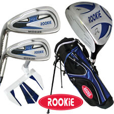 JUNIOR LH GOLF SET BLUE 5 PCE for KIDS 4 to 7yrs WITH MATCHING GOLF STAND BAG