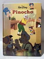 Vintage 1989 Walt Disney Cinema Pinocchio Pinocho Book in Spanish, En Espanol