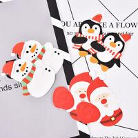 50x Navidad Piruleta Papel Caramelo Chocolate Pastel Navidad Decoración Regalo