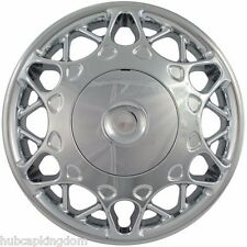 "NEW 1997-2005 Buick CENTURY 15"" CHROME 2-piece Screw-on Hubcap Center Wheelcover"