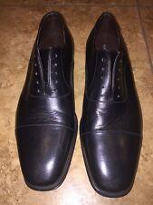 Magnanni Salamanca Oxford  9 1/2 M MENS Black, Retail $350