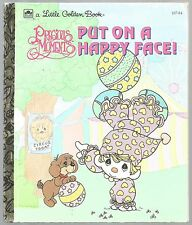 Precious Moments PUT ON A HAPPY FACE! Little Golden Book