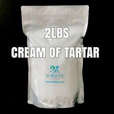 2 lbs. Cream of Tartar, Potassium Bitartrate, Bubble Bar Hardener, COT, USA