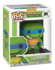 Funko Pop! figura De Vinilo 8-Bit Tmnt Leonardo Nº 04