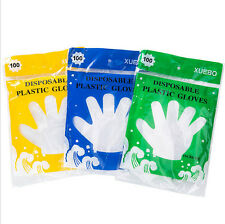 100pcs Disposable gloves For Cooking Meat BBQ Cleaning Washing Gardening US