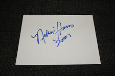 Niki Harris signed autograph on 10x15 cm index Card InPerson Madonna