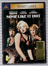 Some Like It Hot - New Dvd - Marilyn Monroe - Tony Curtis - Jack Lemmon Ws 1959