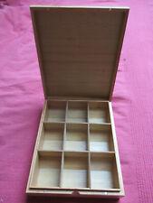Bredemeijer Universal 9 compartment tea box no window