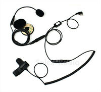Helmet Headset Earpiece For icom IC-V8 IC-4088A Vertex VX-200 VX-500 Maxon SP210